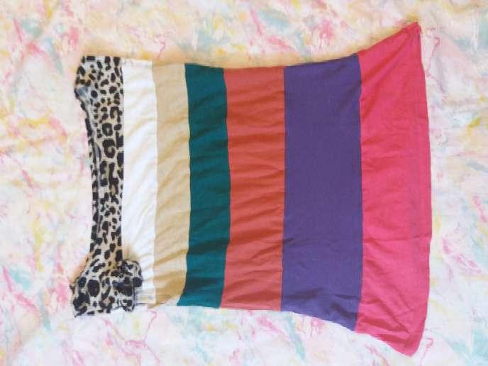Imagen camiseta multicolor