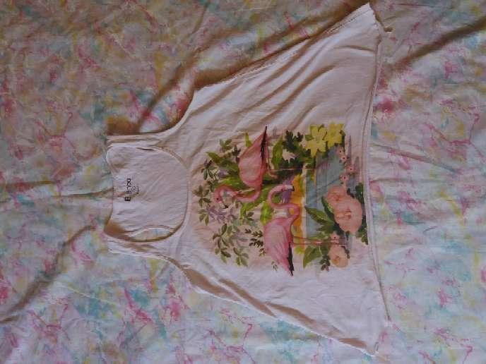 Imagen camiseta de tirantes rosa palo