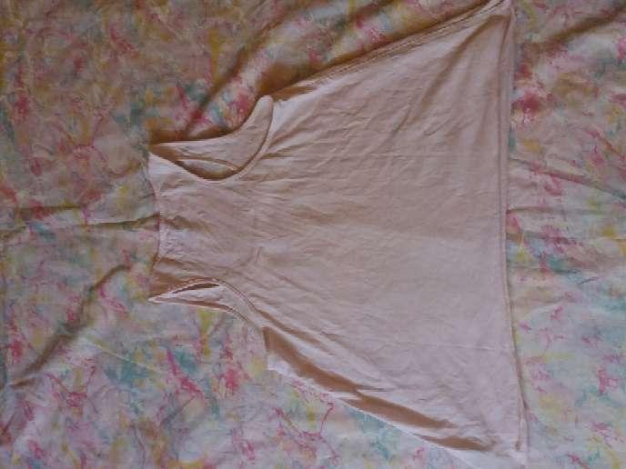 Imagen producto Camiseta de tirantes rosa palo 2