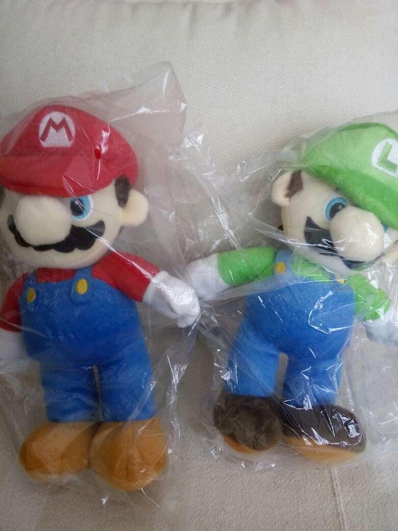 Imagen peluche Mario bros y luigi