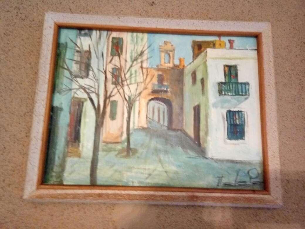 Imagen producto Cuadros del pintor jerezano jologa, de los años 60 4