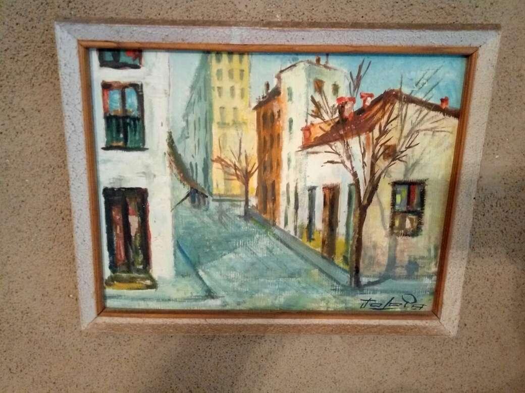 Imagen producto Cuadros del pintor jerezano jologa, de los años 60 3