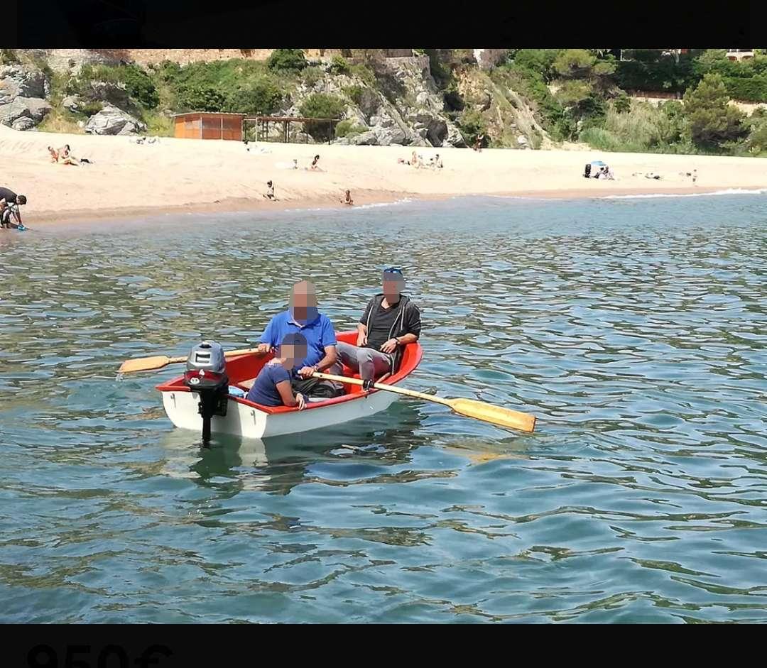 Imagen producto Barca de 2'6 con motor 4cv 3