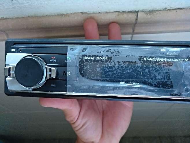 Imagen radio bluetooth USB para coche nueva