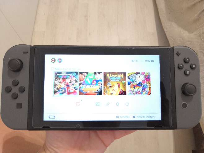 Imagen Nintendo switch accesorios y juegos