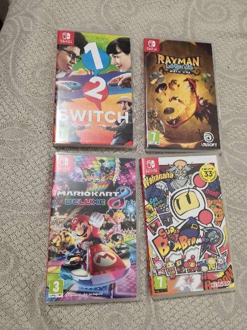 Imagen producto Nintendo switch accesorios y juegos  3