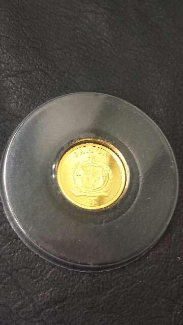 Imagen producto Moneda de oro puro 999 MAGNA MATER  5