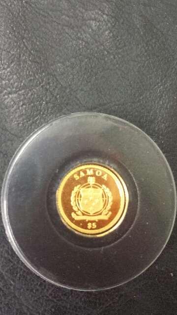 Imagen producto Moneda de oro puro 999 MAGNA MATER  4