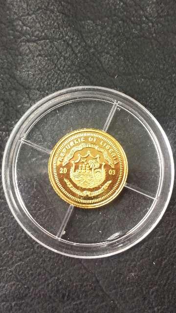 Imagen producto Moneda oro 999 Madre Teresa  4