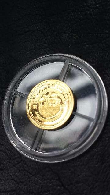 Imagen producto Moneda oro 999 Madre Teresa  5