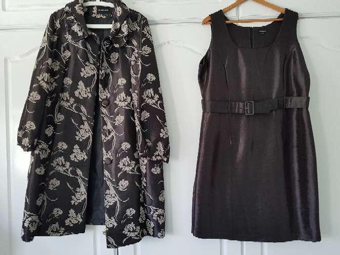 Imagen producto Traje vestido y abrigo 3