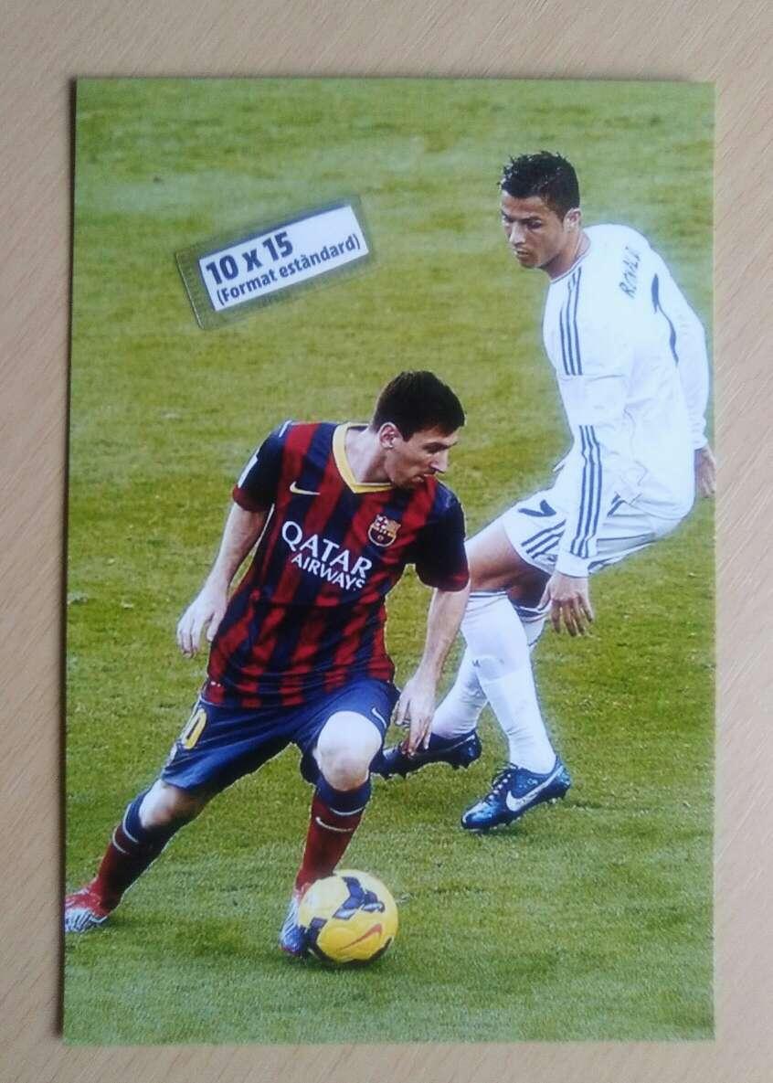 Imagen Messi. Fotografía.