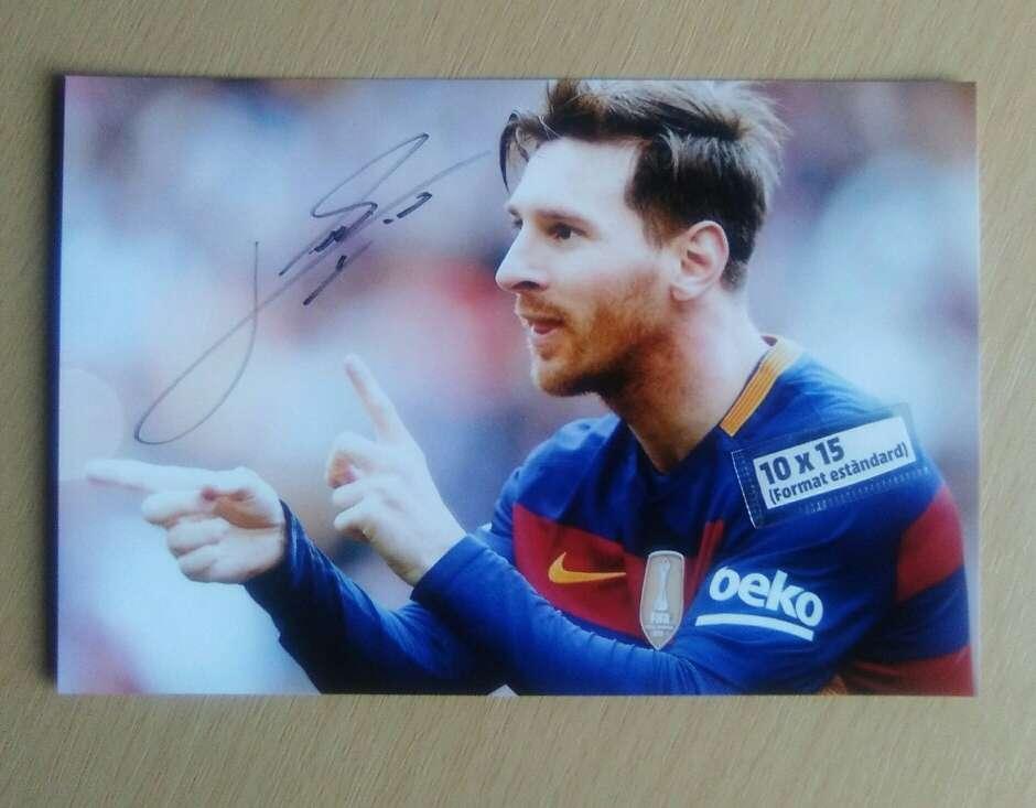 Imagen Messi Fotografía..