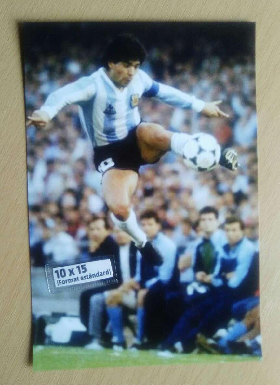 Imagen Fotografía Maradona.