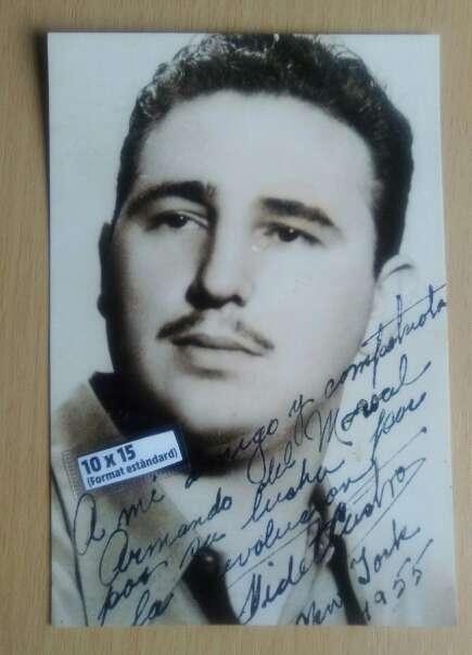 Imagen Fotografía Fidel Castro.