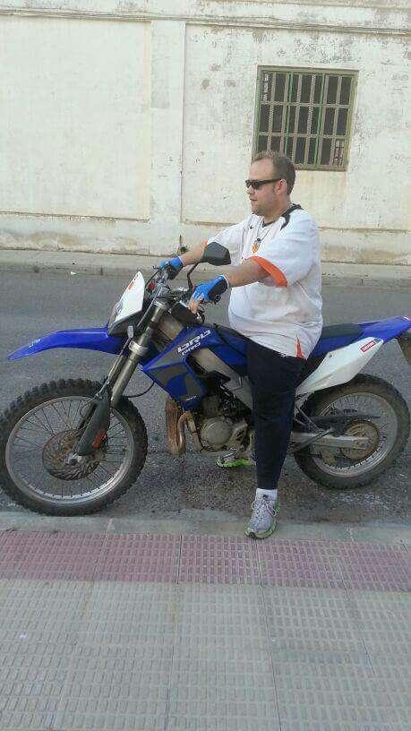 Imagen  moto 49 azul