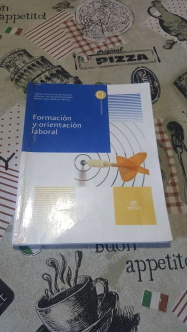 Imagen Libro de Formación y orientación laboral
