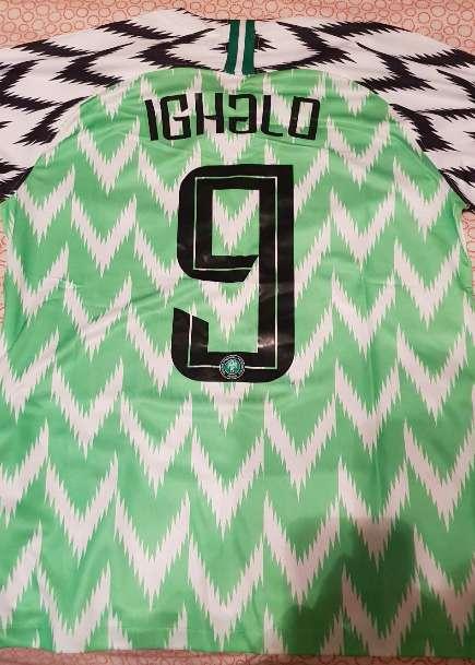 Imagen producto Camiseta Nigeria  5