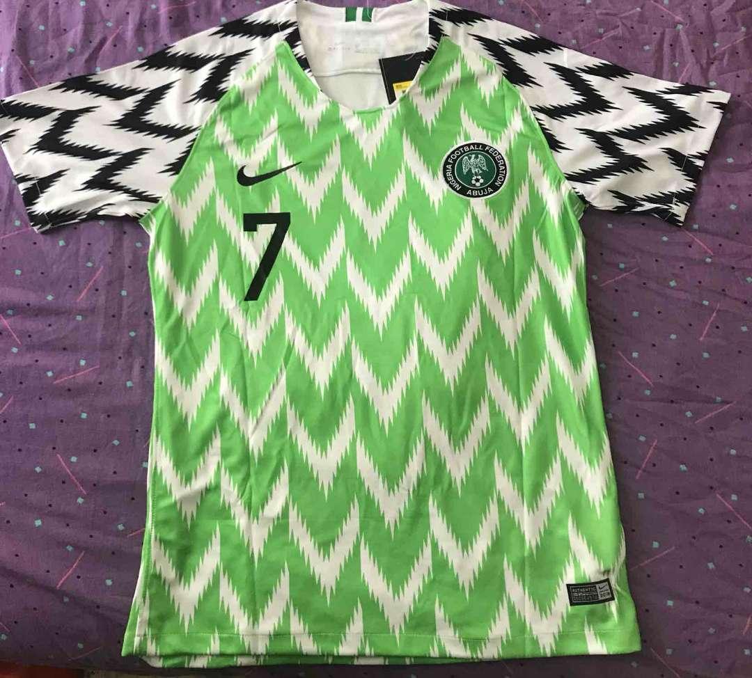 Imagen producto Camiseta Nigeria  3