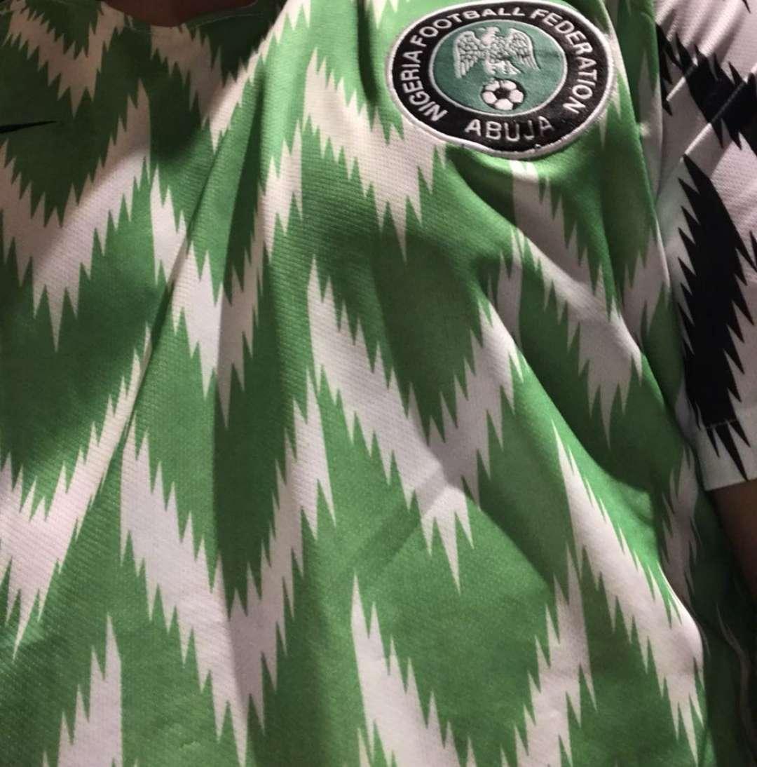 Imagen Camiseta Nigeria