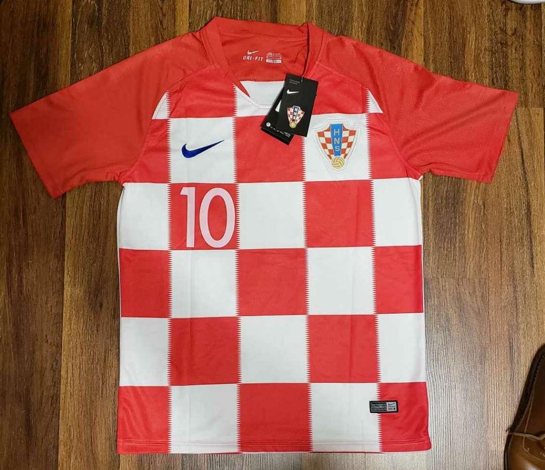 Imagen Selección Croacia Mundial Modric