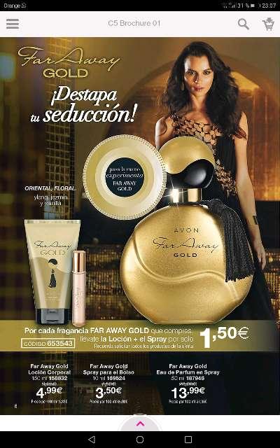 Imagen Perfumes de la marca Avon
