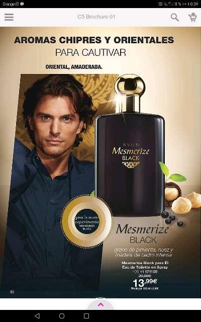 Imagen Perfume para Él marca Avon