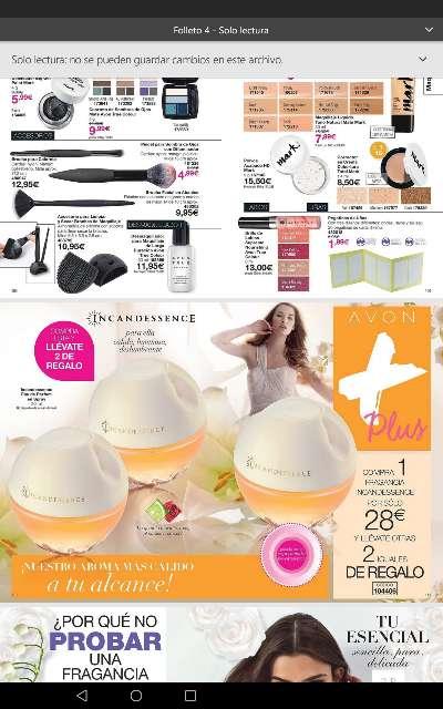 Imagen Perfume Incandesscence de marca Avon