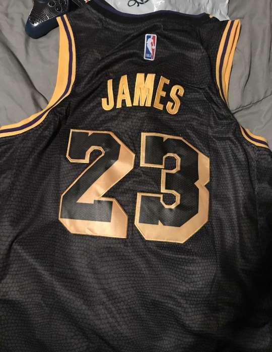 Imagen LeBron James Lakers Vintage