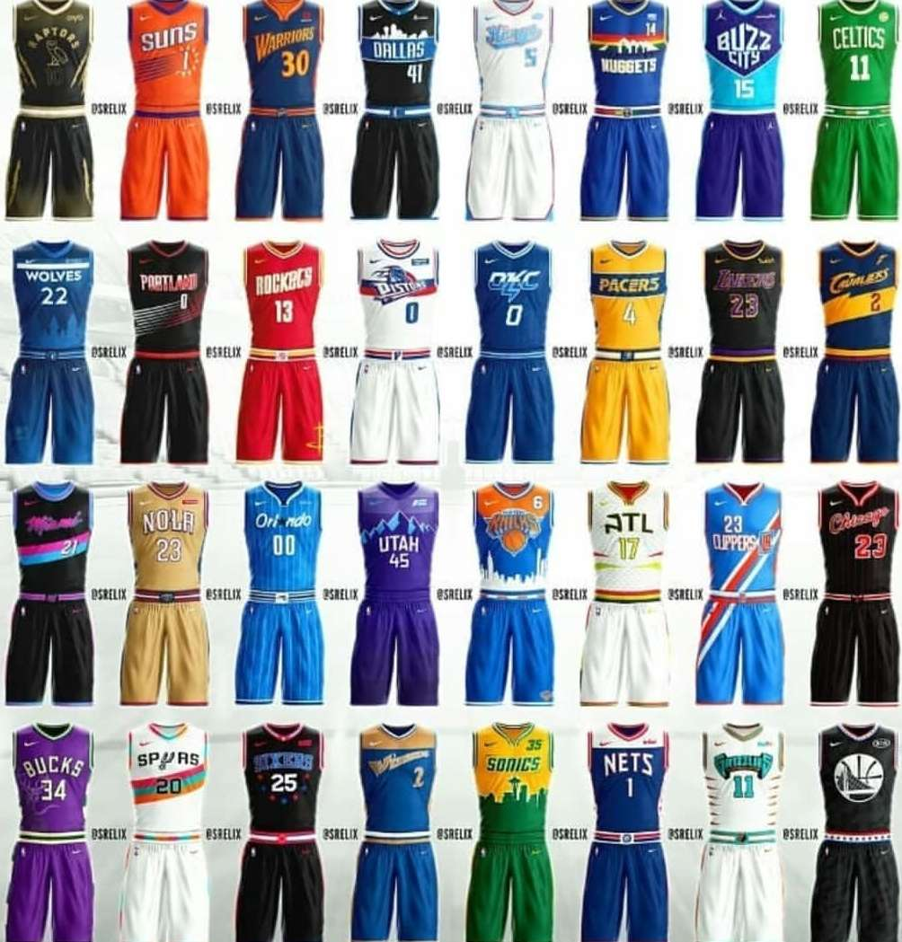 Imagen Camisetas 2018-2019 NBA