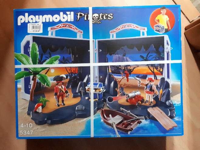 Imagen playmobil piratas