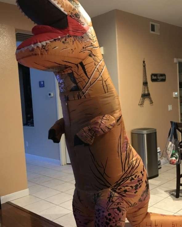 Imagen producto Disfraz de dinosaurio  2