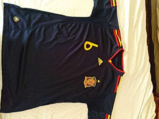 Imagen producto Camiseta Iniesta España  4