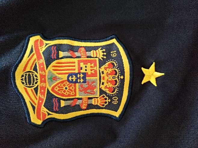 Imagen producto Camiseta Iniesta España  2
