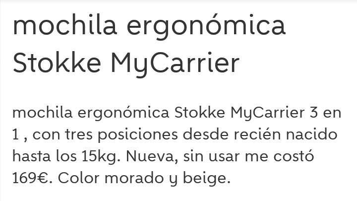 Imagen producto Mochila ergonómica stokke Muy carrier 4