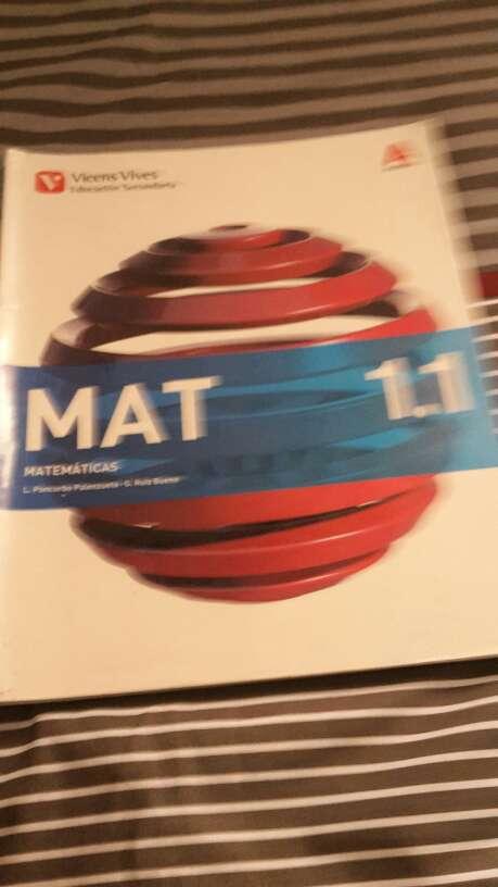 Imagen producto Libros de matemáticas de 1º de la ESO editorial Vicens Vives 4