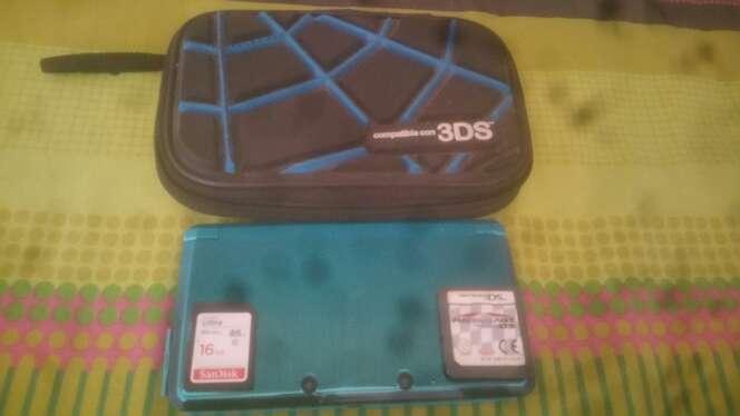 Imagen producto Nintendo 3DS 16GB + Juegos + Funda 2