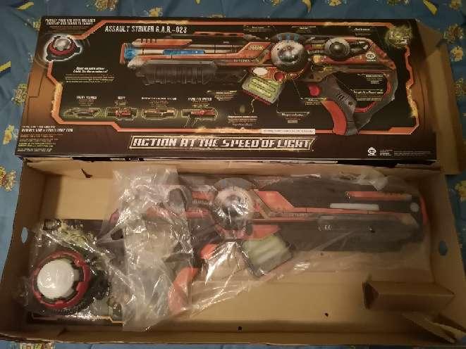 Imagen producto Armas laser de juguete, con cajas originales 2