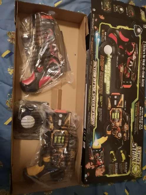 Imagen Armas laser de juguete, con cajas originales