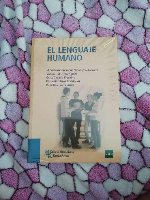 Imagen producto El lenguaje humano - UNED 1