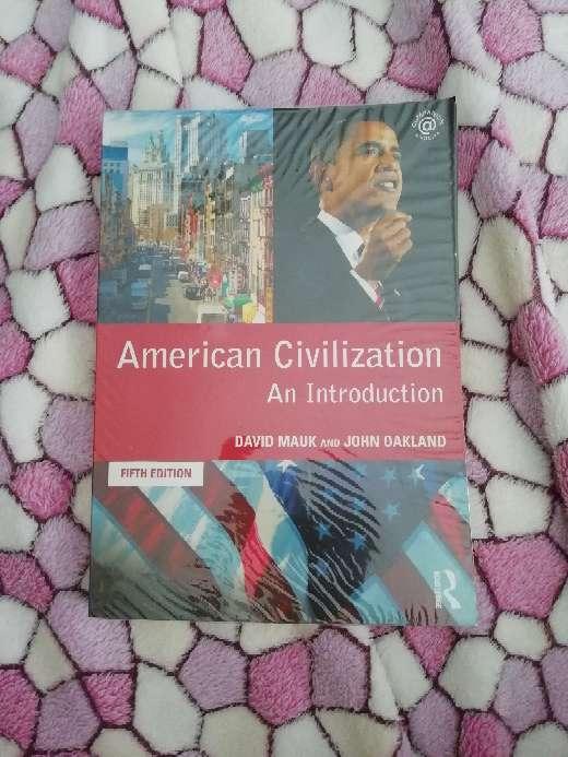 Imagen producto American Civilization - UNED 1
