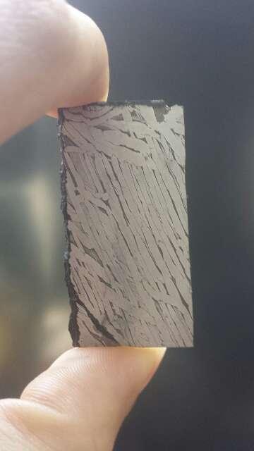 Imagen lámina de meteorito Seymchan