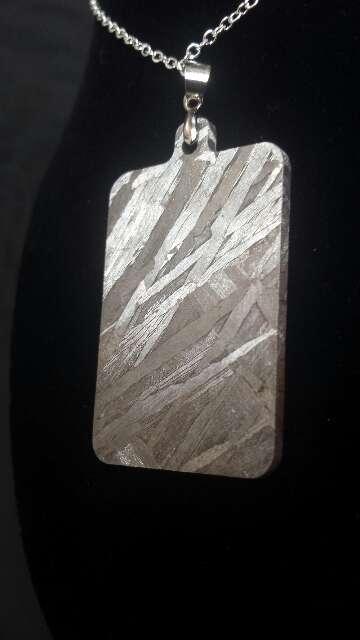 Imagen producto Colgante lámina meteorito  3