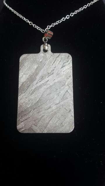 Imagen producto Colgante lámina meteorito  2