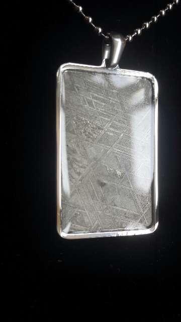 Imagen producto Meteorito Muonionalusta con acero  4