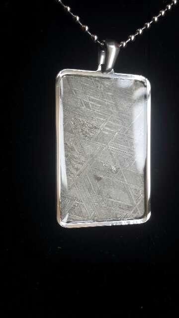 Imagen producto Meteorito Muonionalusta con acero  3