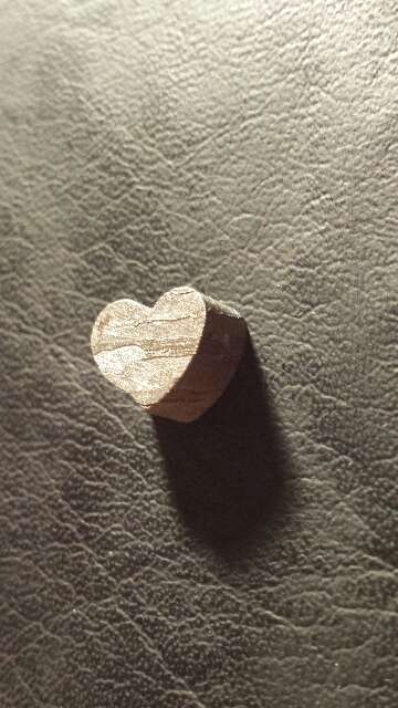 Imagen producto Corazón grueso de meteorito  2