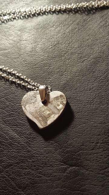 Imagen producto Colgante perfecto corazón Seymchan  5