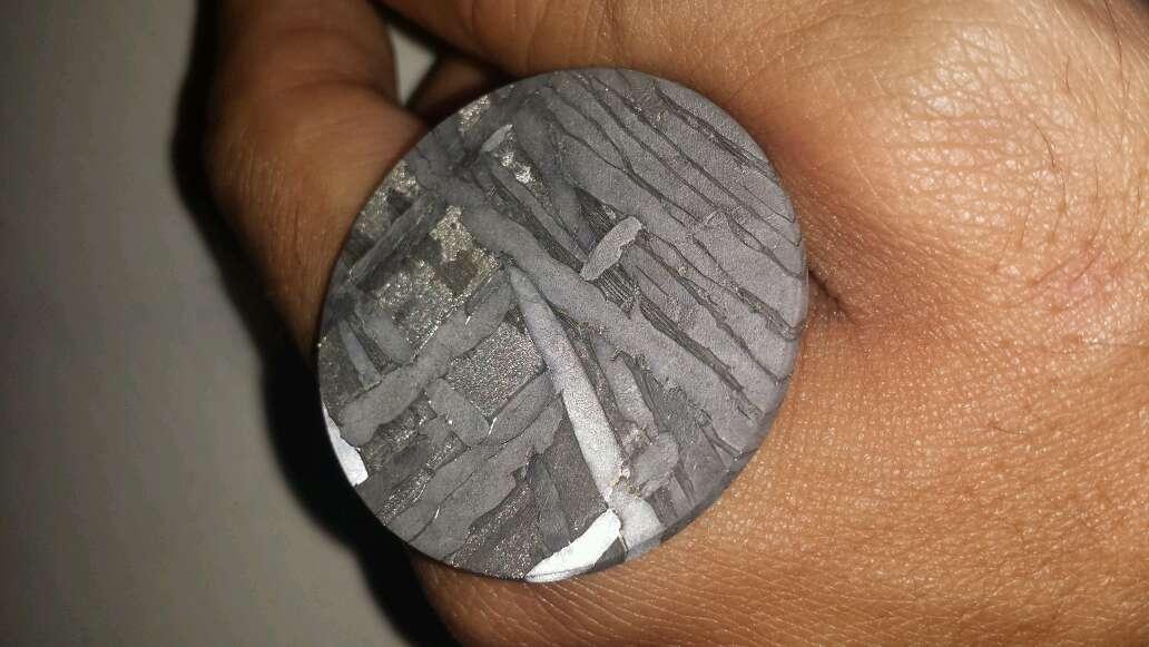 Imagen producto Meteorito forma moneda  7