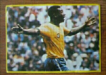 Imagen Pelé Card.